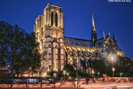 Notre Dame by Night