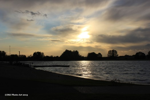 Sunset at Ferry Meadows