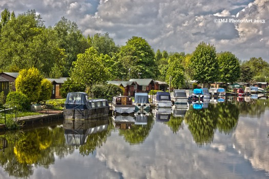 Boats at Orton Mere - Revisited
