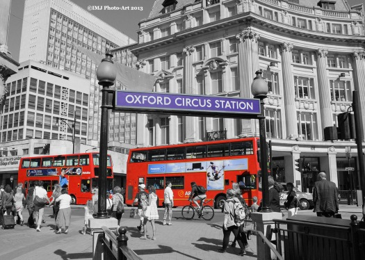 Exhibition Picture 9 - A Splash of Oxford Circus