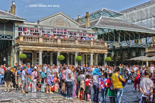 A Summer Day in Covent Garden